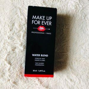 make up forever water blend foundation NWB